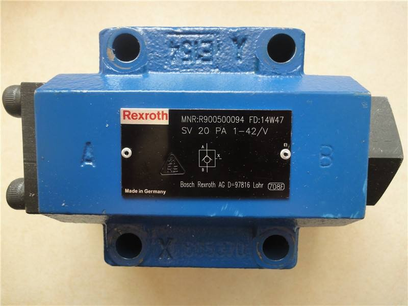 REXROTH 3WE 10 A5X/EG24N9K4/M R901278770 Directional spool valves